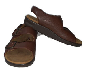 SAS Tripad Comfort Relaxed Amber Womens Sandal Sz 7.5 M Brown Double Strap