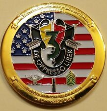 3rd Special Forces Gp Airborne Commander ser#617 Army Challenge Coin