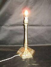 Lampe bronze art nouveau.
