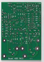 Higly sought Class A dynamic biasing 80W amplifier PCB Quad 405 MK2 1pc !