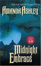 Midnight Embrace by Amanda Ashley (2002, Paperback) Paranormal Romance Series