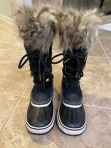 New Sorel Joan of Arctic Boot - Women's Black, 9.5
