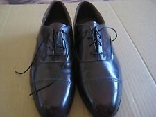 BOSTONIAN OXFORDS  BURGUNDY ~ Size 10 M ~ Mens MADE IN USA