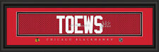 Chicago Blackhawks Jonathan Toews Signature Framed Print - NFL Poster Man Cave