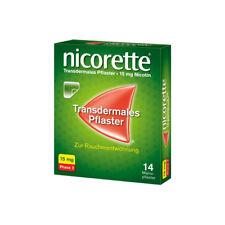 NICORETTE TX Pflaster 15 mg 14St PZN 03273514