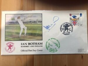 Cricket - Sir Ian Botham 1984 Signed Cover - Limited Edition Nº675