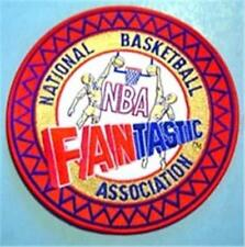 "NBA National Basketball Association Fantastic Cloth Patch Round 6 1/2"" Diameter"