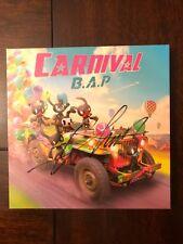 *SIGNED* Kpop Album BAP B.A.P - Carnival + Himchan signed + Jongup PC