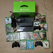Microsoft Xbox One Bundle 500GB Console w/ Kinect w/ 4 controllers & 12 games