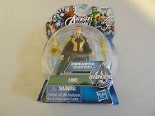 Marvel AVENGERS Assemble LOKI Enchanted Scepter 3.75 Figure NEW