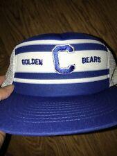 UC Cal Golden Bears Vintage 80-90s Snapback Trucker Alternate Color Hat Sears
