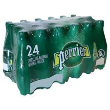 Perrier Sparkling Natural Mineral Water, 330ml (Case of 24)