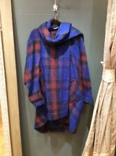 Vivienne Westwood Blue Check Coat, One Size