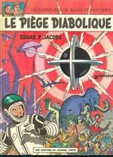 Le piège diabolique Blake et Mortimer Jacobs TBE 1972