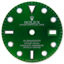 Rolex Submariner Stainless Steel Green Color Dial with Luminous Markers