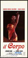 The Body: Cinema Movie Zeudi Araya Baker Erotic 1974 Playbill Poster