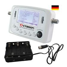 Octagon SF 418 LCD HD Full HD Satfinder ASTRA HOTBIRD TURKSAT + Batterie Pack