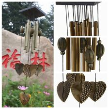 Garden Large Copper Love Wind Chimes Bell Ornament Windbell Gift Yard Home Decor