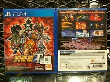 PS4 SUPER ROBOT WARS T ASIA ENGLISH VERSION RARE!