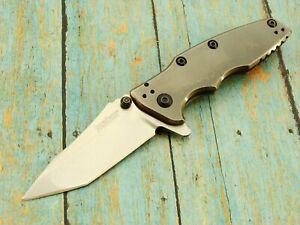 KERSHAW 3920 HINDERER DESIGN SHIELD TANTO SPEEDSAFE ASSISTED POCKET KNIFE KNIVES