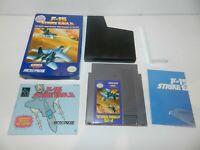 F-15 Strike Eagle Nintendo NES Game Complete in Box CIB Tested