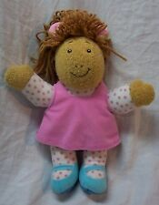 "PLAYSKOOL Marc Brown Arthur TALKING D.W. SISTER 10"" Plush STUFFED ANIMAL Toy"