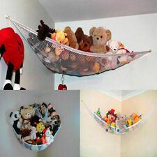 150*100*100CM Toy Hammock Net Stuffed Jumbo Animals Storage Organizer+Hooks