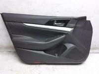 16 17 18 Nissan Maxima SV Front Driver Interior Door Panel Trim 809A1-4RA0A BLK