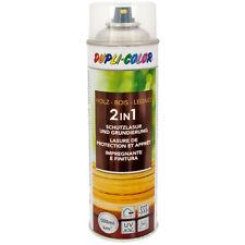 Holzschutzlasur Lasur Holzlasur Dupli-Color 2in1 spray 500 ml Teak Sprühlasur