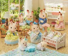 Sylvanian Families Calico Critters Hopscotch Rabbit Family Celebration Set