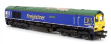 Dapol 2d-007-010d N Gauge Freightliner Blue 66623 Bill Bolsover DCC Fitted