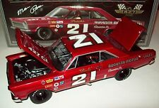 Marvin Panch 1965 Ford Galaxie #21 Augusta Motors Signed Autograph 1/24 Legends
