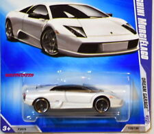 HOT WHEELS 2009 DREAM GARAGE LAMBORGHINI MURCIELAGO #04/10 WHITE W+