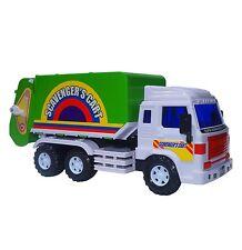 Big-Daddy Medium Duty Friction Powered Garbage Truck - Dumps When Full