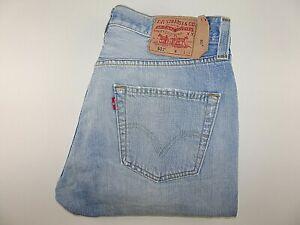"""LEVIS 501 Mens Jeans Blue Denim Straight Leg SIZE W32 L32 Waist 32"""" Leg 32"""" LEVI"""