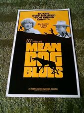 Mean dog blues 1977 Press book Gregg Henry Tina Louise
