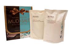 Ahava Natural Dea Sea Mud & Salt Gift Set, 13.6 Oz & 8.5 Oz