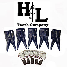 233tt7 Bucket Teeth By Hampl Fits 230 Series Adapters Hammerless Conversion 233