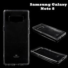 Mercury Goospery Pearl TPU Gel Case Cover For Samsung Galaxy Note 8 - Clear+SP