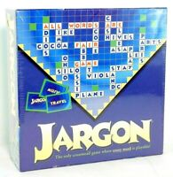 New!  Jargon; The Only Crossword Game Where Every Word is Playable! Friendly Inc