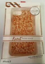 Case-Mate Karat Series Case Cover for Apple iPhone 7 6s 6 - Clear / Rose Gold