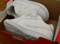 Infant NIKE Court Royal All WHITE Children's Trainers RRP 29.99 - UK size 3.5