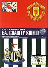 FA CHARITY SHIELD PROGRAMME 1996 Manchester United v Newcastle