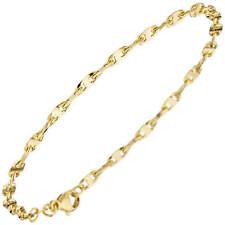 2,9mm Bracelet en Or 585 or Jaune 19cm, Femme