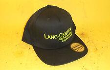 LANG-CENTER Cap / Snapcap / Snapback / schwarz - neon / Kappe / Gaimersheim