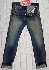Edwin 12oz Selvedge Heavy Duty Dark Blue Japanese Denim Jeans W32 L34 £200 New