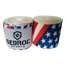 Sedroc Boxing Mexican Style Hand Wraps - USA Flag