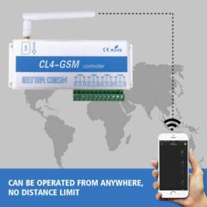 CL4-GSM Drahtlose Smart GSM-Controller Switch Relay Fernbedienung Steuerschalter
