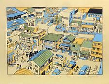 Benjamin REISS SERIGRAPHIE TOKYO - 50 ex. n°/signés 2014