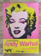 Andy warhol marilyn monroe Print Poster Tate classic 60's pop art original New .